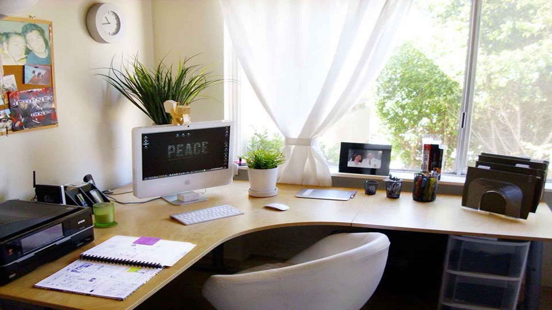 office feng shui. Black Bedroom Furniture Sets. Home Design Ideas